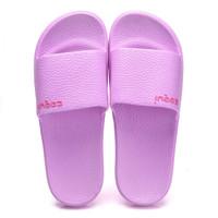 COQUi 酷趣 情侣透气居家浴室 简约沙滩洗澡凉拖鞋 女款紫色37-38 CQ5072