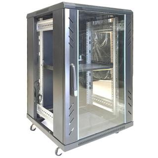图腾(TOTEN)G2.6932 网络机柜 服务器机柜 前门玻璃后门钣金 19英寸标准