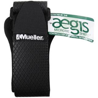 美国慕乐Mueller 57927护膝可调式跑步登山篮球骑行运动髂胫束带运动护具 黑色均码 单只
