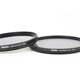 海大(Haida)HD2021 PROII 级超薄多层镀膜圆滤镜 偏振镜(C-POL) 海大滤镜 77mm