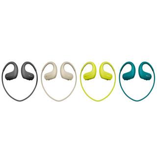索尼(SONY)NW-WS413防水游泳跑步运动mp3音乐播放器一体耳机 4G(黑色)