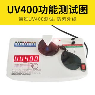 趣行 偏光夹片太阳镜 防紫外线汽车驾驶夹片墨镜 近视镜配套可上翻时尚加大蛤蟆镜