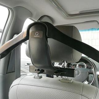 快美特(CARMATE)车用晾衣架 车载车内衣服西装架 汽车用品EXQ101C 黑色