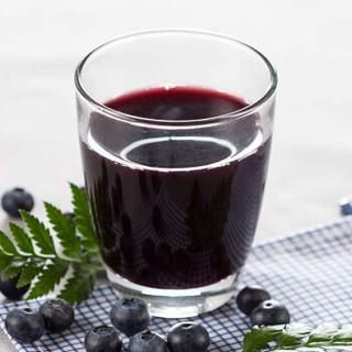 吕梁野山坡 蓝莓汁 果汁饮料 300ml*12瓶 整箱装