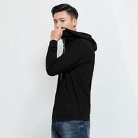 SEVEN 柒牌 卫衣男青年时尚休闲套头连帽卫衣 113K28930