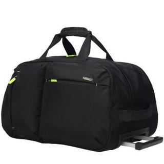 Carany 卡拉羊 拉杆包 大容量手提防水旅行包 可折叠行李包 CX8430L 黑色
