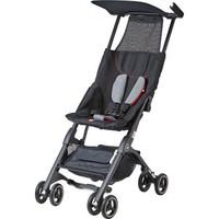 gb好孩子 婴儿车 婴儿推车 口袋车3系 升级款 轻便折叠 可登机 POCKIT 3C-Q110BB 黑色