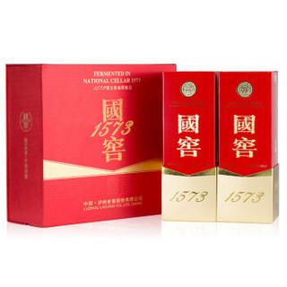 LU ZHOU LAO JIAO 泸州老窖 浓香型白酒 52度 500ml*2瓶 礼盒装