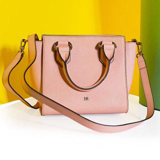 Helena Rubinstein 赫莲娜 女士手提包 高雅时尚牛皮女单肩斜挎包 真皮女包小款 DH2-2001782C3 粉色