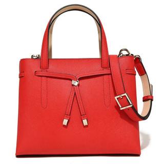 Helena Rubinstein 赫莲娜 赫莲娜HR女包单肩包女斜挎包女士手提包牛皮欧美时尚包包女 DH2-2007781A1/K1/A1/C2 红色