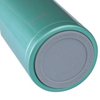 RAE 然也 R3052 304不锈钢保温杯 480ml 黑色