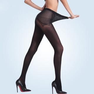 一统·红雨伞打底裤袜60D全无缝苹果臀柔软面膜耐穿型连裤袜 1条装黑色均码