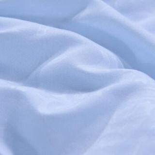 富安娜出品 馨而乐 春秋被 双人被子 纤维被芯 磨毛面料 时尚压花四季被 1.8米床 230*229cm