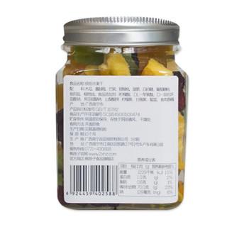 熊孩子 蜜饯果干 零食 5大蜜饯果脯水果干组合 缤纷水果干罐装118g/罐