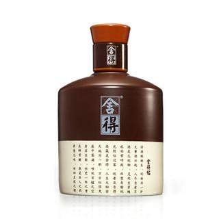 舍得 浓香型白酒 38度 500ml 单瓶装