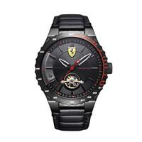 法拉利Ferrari男手表时尚休闲全自动机械表皮带防水腕表0830366