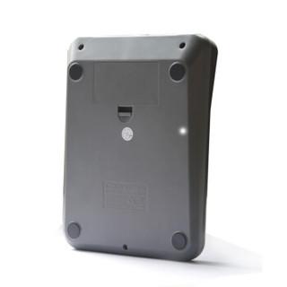 齐心(Comix) 12位语音计算器 C-8158 金属拉丝面板土豪金