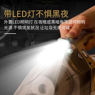 爱蚁(ianttek)车载吸尘器 大功率 充气泵 汽车吸尘器 有线 车用 手持式 汽车用品 AX-005