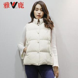 雅鹿 轻型羽绒系列 秋冬装时尚轻盈修身保暖休闲女装羽绒马甲韩版女装外套 YS6101560