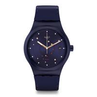 斯沃琪(Swatch)瑞士手表 装置51系列海洋 大气自动机械表SUTN403