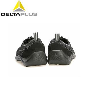 DELTAPLUS 代尔塔 劳保鞋男女防砸透气轻便工作鞋安全鞋 黑色 39 301215
