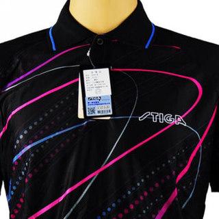 STIGA 斯帝卡 乒乓球服装男女乒乓球衣服运动服训练服 CA-83111 黑色 XL