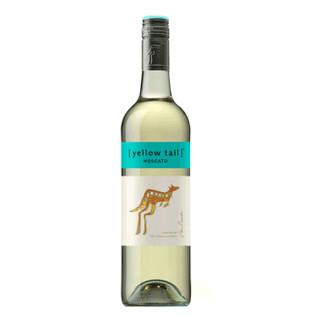 澳大利亚进口红酒 黄尾袋鼠(Yellow Tail)幕斯卡白葡萄酒 750ml*6瓶 整箱装