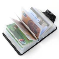 SANTA BARBARA POLO 圣大保罗 卡包头层牛皮银行卡信用卡包多卡位名片卡夹1501B黑色