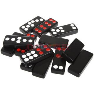 大家乐牌九22号密胺牌九牌骨牌 加厚耐用大号密胺麻将材料 送2粒骰子 棋牌麻将牌骨牌牌九