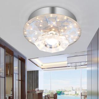 nvc-lighting/雷士照明 led水晶射灯 玄关灯 清光 10W