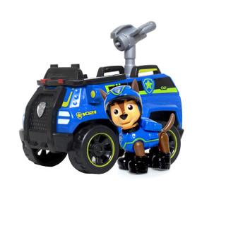 汪汪队立大功(PAW PATROL)狗狗巡逻队全套模型车 儿童男女孩玩具车套装 大救援车系列-环保回收车+灰灰