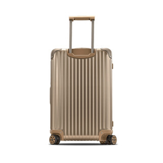 RIMOWA TOPAS TITANIUM  系列 26寸托运箱拉杆箱钛金色 924.63.03.4