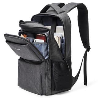 BOSTANTEN 波斯丹顿 男士休闲商务笔记本电脑15.6英寸包 男书包双肩背包 B6174141深灰色