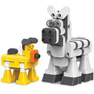 葡萄科技 积木 儿童玩具 大颗粒积木拼装 故事系列宠物诊所 男孩女孩玩具 儿童生日礼物