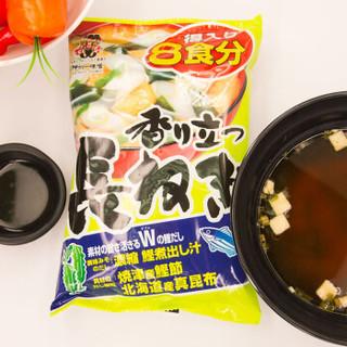 日本进口 神州一 长葱味噌汤 香葱蔬菜日式速食汤 187.2g