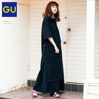 GU 极优 女装修身T恤连衣裙
