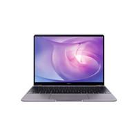 华为(HUAWEI)MateBook 13 全面屏轻薄性能笔记本 八代酷睿(i5-8265U 8G 512G MX250 office 2K 一碰传)灰