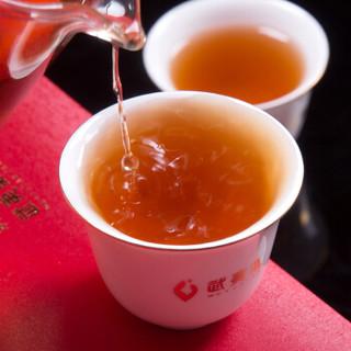 武夷星茶业 乌龙茶 武夷山大红袍武夷岩茶 唤春归茶叶礼盒装 210g