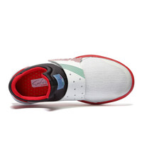 SATCHI 沙驰 潮流运动时尚休闲防滑耐磨健步鞋女鞋M70110 白+黑 37