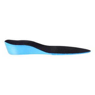 屈臣氏获奖品牌 ELEFT 超轻盈增高鞋垫 隐形软垫全垫男女 黑色2CM