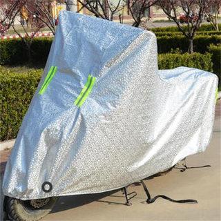 宋林森 XL 铝膜色 摩托车车罩电动车车衣防晒防雨罩踏板车罩 冬季防雪挡电动车雨衣新大洲小米安马达大阳超威