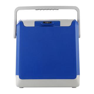 婷微(Tingwei)CB-24 24L蓝色车载冰箱 半导体车家两用冷暖箱 户外野餐迷你小冰箱保鲜箱(内赠冰袋×2)