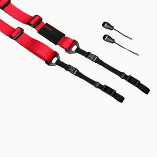 Carryspeed速道相机背带肩带微单卡片机专用背带 微速红色