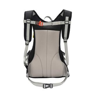 伯希和PELLIOT户外登山包男女骑行运动背包徒步双肩包旅行户外包  黑色