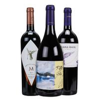 MONTES 蒙特斯三剑客(紫天使+富乐+欧法M)干红葡萄酒750ml*3支装