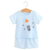 熊仔贝贝 婴儿短袖套装 *2件