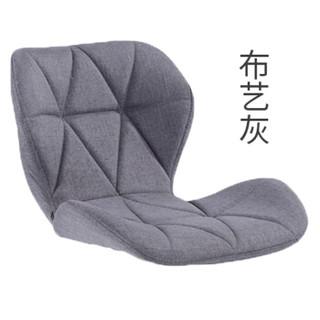 乐高赫曼 吧台椅 凳子 可升降靠背酒吧椅子旋转前台收银椅高脚凳LG-308-布艺灰色