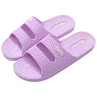 Nan ji ren 南极人 拖鞋女情侣家居浴室洗澡拖鞋 19A024 紫色 38码