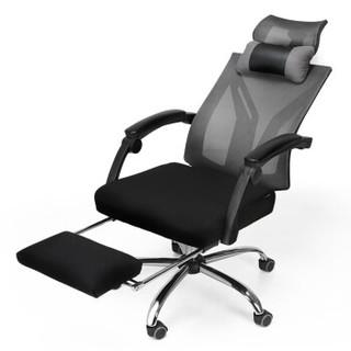 Hbada 黑白调 电脑椅 黑色 (网布)