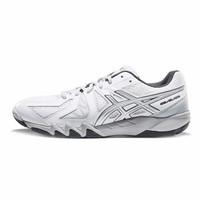 ASICS亚瑟士男女耐磨防滑羽毛球鞋中性运动鞋GEL-BLADE5 白色/银色 *2件